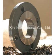 DIN2565 Pn6 Threaded/Screwed Flanges Made of Carbon Steel and Stainless Steel