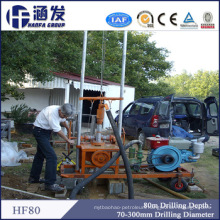 Hf80 Cheap Small Drilling Rig From China (borehole/energy drilling equipment)