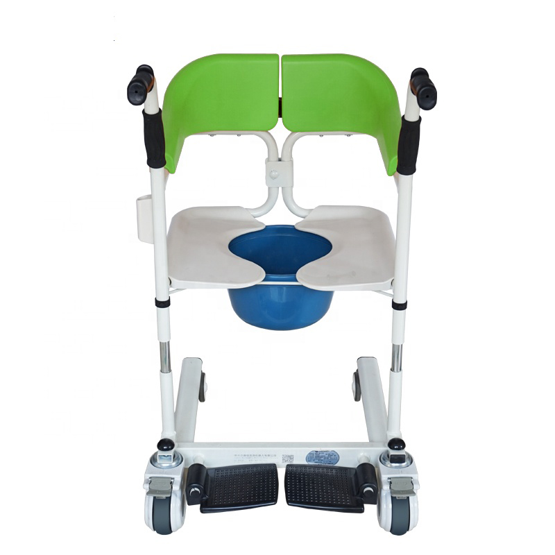 Transfer Chair With Commode
