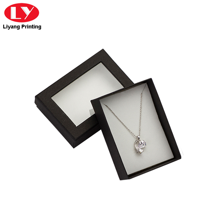 Paper Packaging Box For Necklace Packaging
