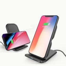 2018 plus récent chargeur d'affichage du téléphone portable chargeur sans fil charge rapide chargeur de support mobile pour iPhone 8 samsung S8 smartphones