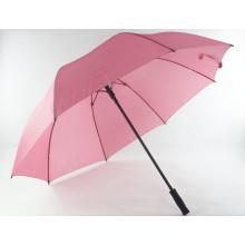 Kundenspezifisches Logo-bedrucktes gerades Anzeigen-Regenschirm