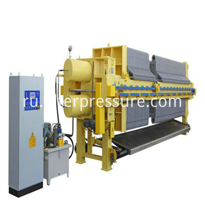 High Quality Pharmacy Stainless Steel Filter Press