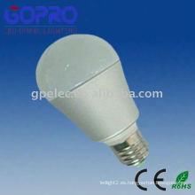5W E27 bombillas LED con bajo consumo de energía