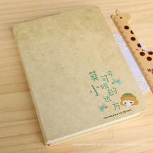 Elegante cubierta dura libro de bocetos encuadernado
