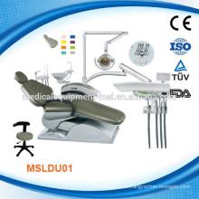 Wir haben sowohl die kostengünstige & High-End verwendet Zahnarztstuhl (MSLDU01M)