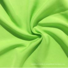 Tissu en tissu tissé tissé à rayures viscose Rayon Viscose