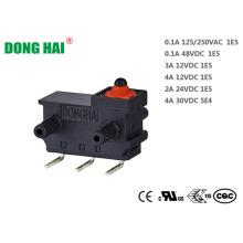 Interruptor sellado para piezas eléctricas automotrices
