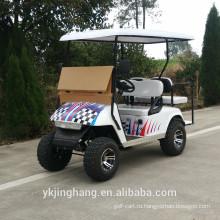 4kw электрическая тележка гольфа самокат для внедорожного использования