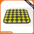 White & Black Durable Pedestrian Crossing Rubber Cushion