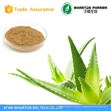 Extrato de Aloe Vera Erva Planta 200: 1 100: 1 Liofilizado Aloe Vera Pó