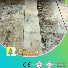 Household 8.3mm E1 AC3 Embossed Walnut V-Grooved Waterproof Laminate Floor