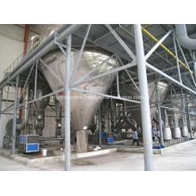 Centrifuge spray dryer of phenolic aldehyde resin