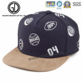 Fashion Custom Embroidery Basketball Snapback Cap with Laser Hole Bill