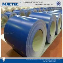 Qualidade prime ppgi folha de coberturas / ppgi cor revestido bobinas de aço galvanizado