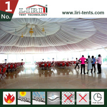 15m Frame 6 Hexagonal Tents for 500 People for Outdoor Catering Dining