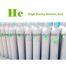 Helium 99.999% in 40L Gas Cylinder Bottles with Caps