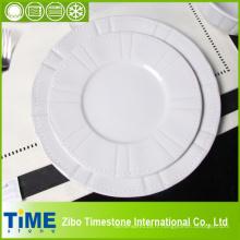 Plaque à salade en porcelaine en gros (4091104)
