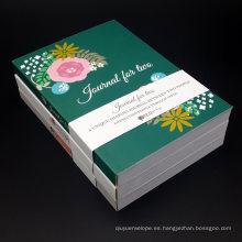 Cuaderno diario Cubierta suave Diario Notebook Impresión