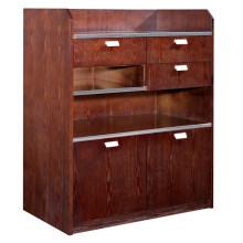 Mobília de madeira do hotel do armário do chá