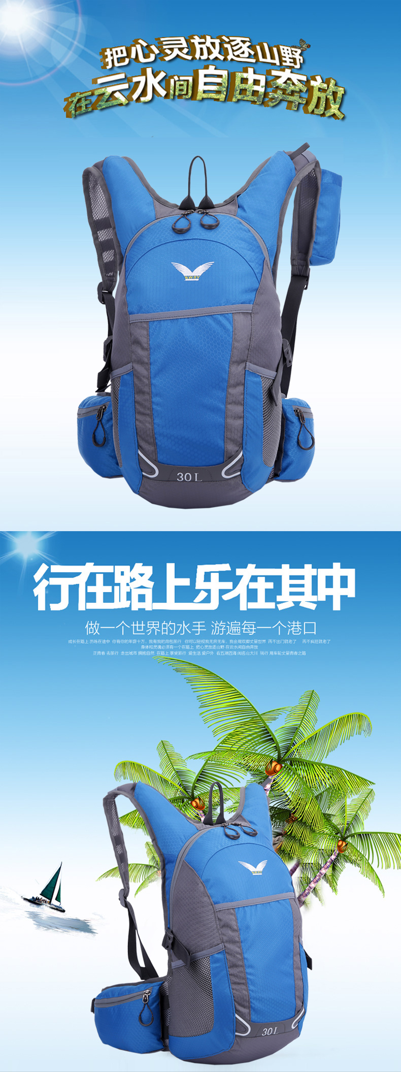 sports backpack