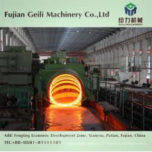 Cabeça de assentamento para linha de produção de laminação de fio-máquina