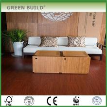 Plancher en bambou massif carbonisé vertical de 14 mm d'épaisseur importé