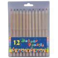 """7"""" Kids Wooden Colour Pencil Set"""