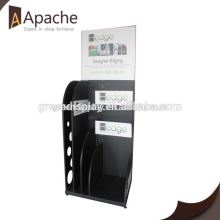 Hot selling assemble cardboard ladder display stand