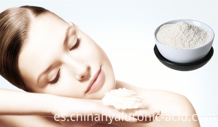 HA powder for skin
