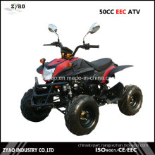 Quad ATV with EEC 50cc for Kids