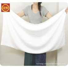 hut selling white 80polyester 20 polyamide bath towel, hotel towel, face towel