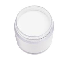 Polvo de acrílico transparente al por mayor, polvo de acrílico blanco para el arte del clavo, claro de acrílico del polvo del clavo