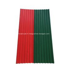 Tuile de toiture ondulée enduite de couleur de longue portée MGO