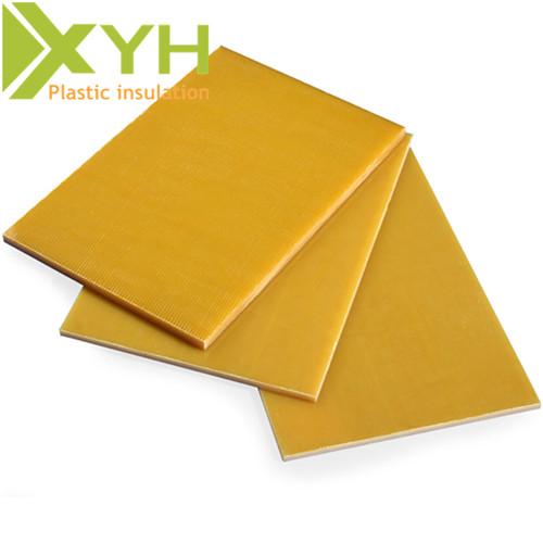 Yellow Epoxy Sheet