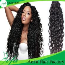 Выдвижение человеческих волос 7А высокое качество девственница волос Remy