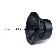 Moule en plastique pour coque d'injection de haut-parleur en cône