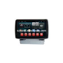 HOT! Carro dvd com link espelho / DVR / TPMS / OBD2 para 8 polegadas tela capactive 6.0 sistema Android MAZDA 3