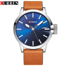 Fashion Leather Strap Quartz Wrist Watches Men