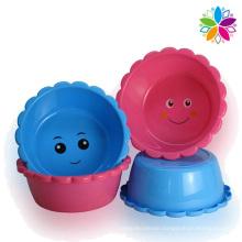 Smile Creative Design Plastic Wash Basin (SLP038)