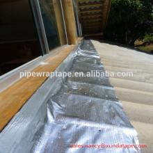 алюминиевая крыша гидроизоляционная лента мигает битума