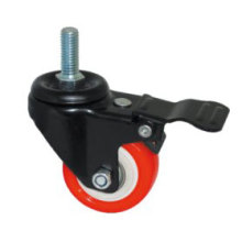 Estilo leve tipo Kingkong Red PU Wheel Roulette (Kxx5b)