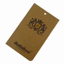 Kraft Paper Jeans Hang Tag, Personality, Fashion, Eco-friendly and Waterproof, OEM Orders Accepted