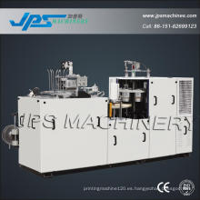 Tazón de papel recubierto PE doble de Jps-S35 que forma la máquina
