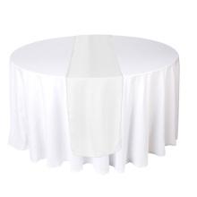 Chemin de table de décoration de mariage 2015 pour tables rondes