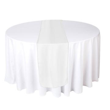 2015 corredor de mesa de decoración de bodas para mesas redondas