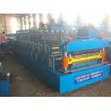 Machine de formage de rouleaux à double couche pour panneaux de toit