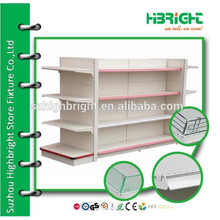 supermarket stationery display shelf