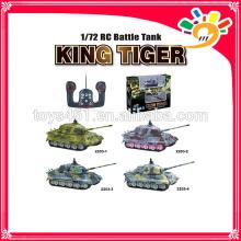 2203 Nouveau produit 1:72 Scale RC Tank For Sale Mini-réservoir multicanal