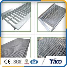 Оцинкованные стальные решетки, дренажные траншеи крышку решетки